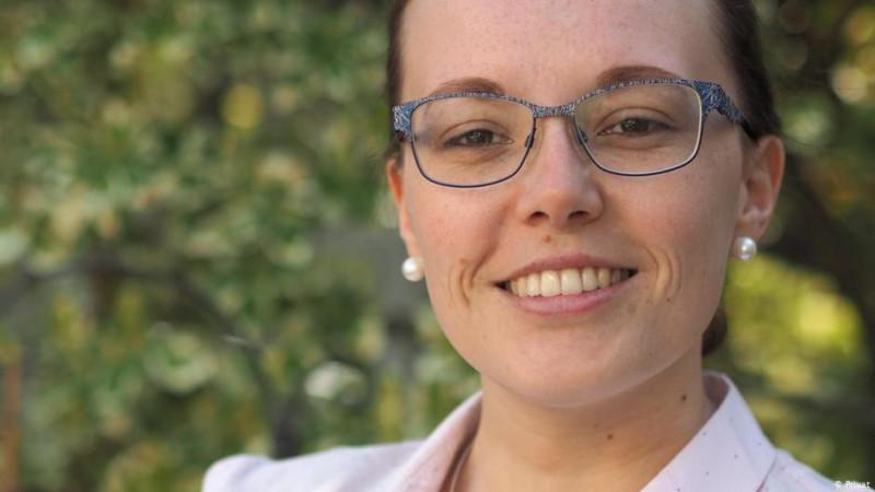 Кристл, выпускница Высшей школы Хайльбронна