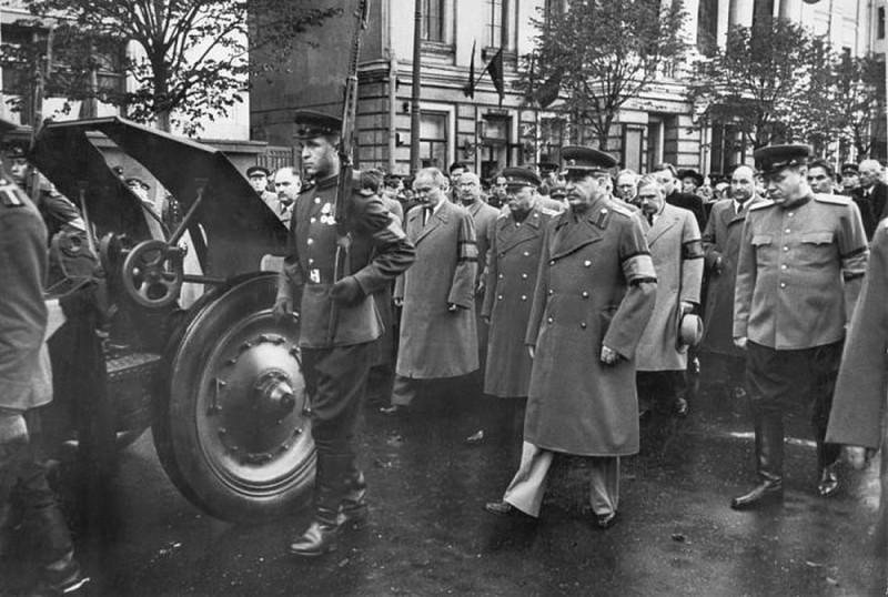 Похороны Жданова. 2 сентября 1948 г.