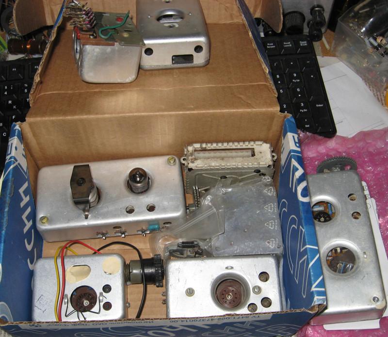 Коробка с блоками УКВ