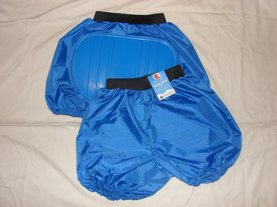 Синие санки-шорты