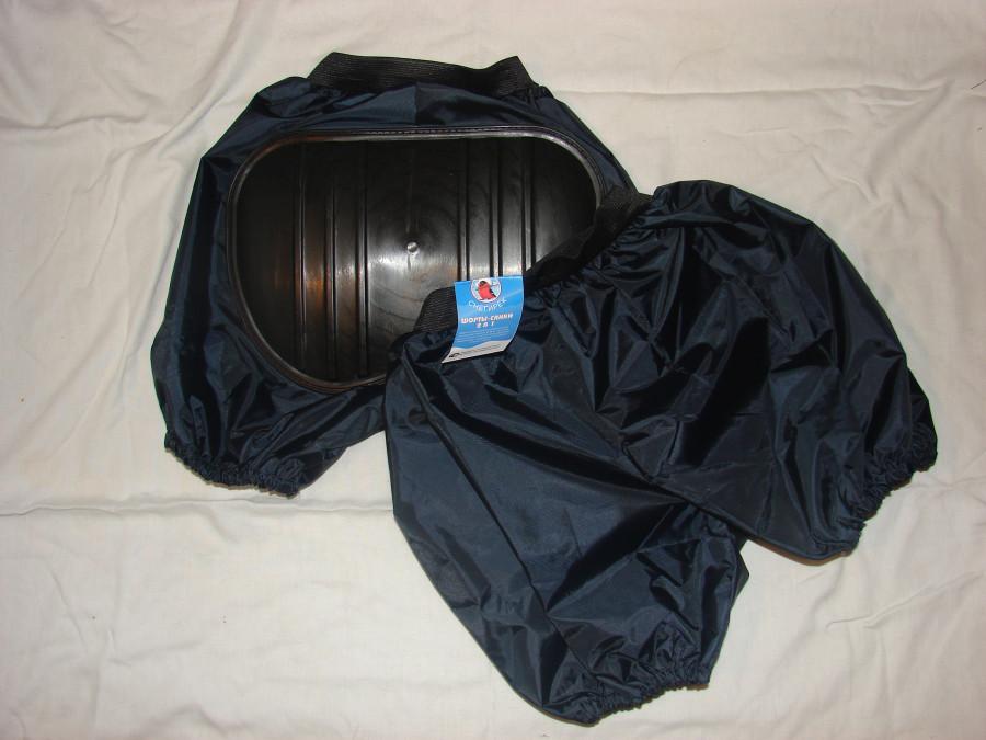 Черные санки-шорты