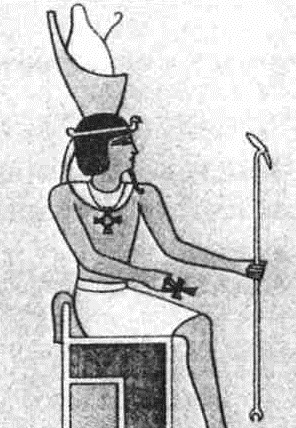 фараон с крестом