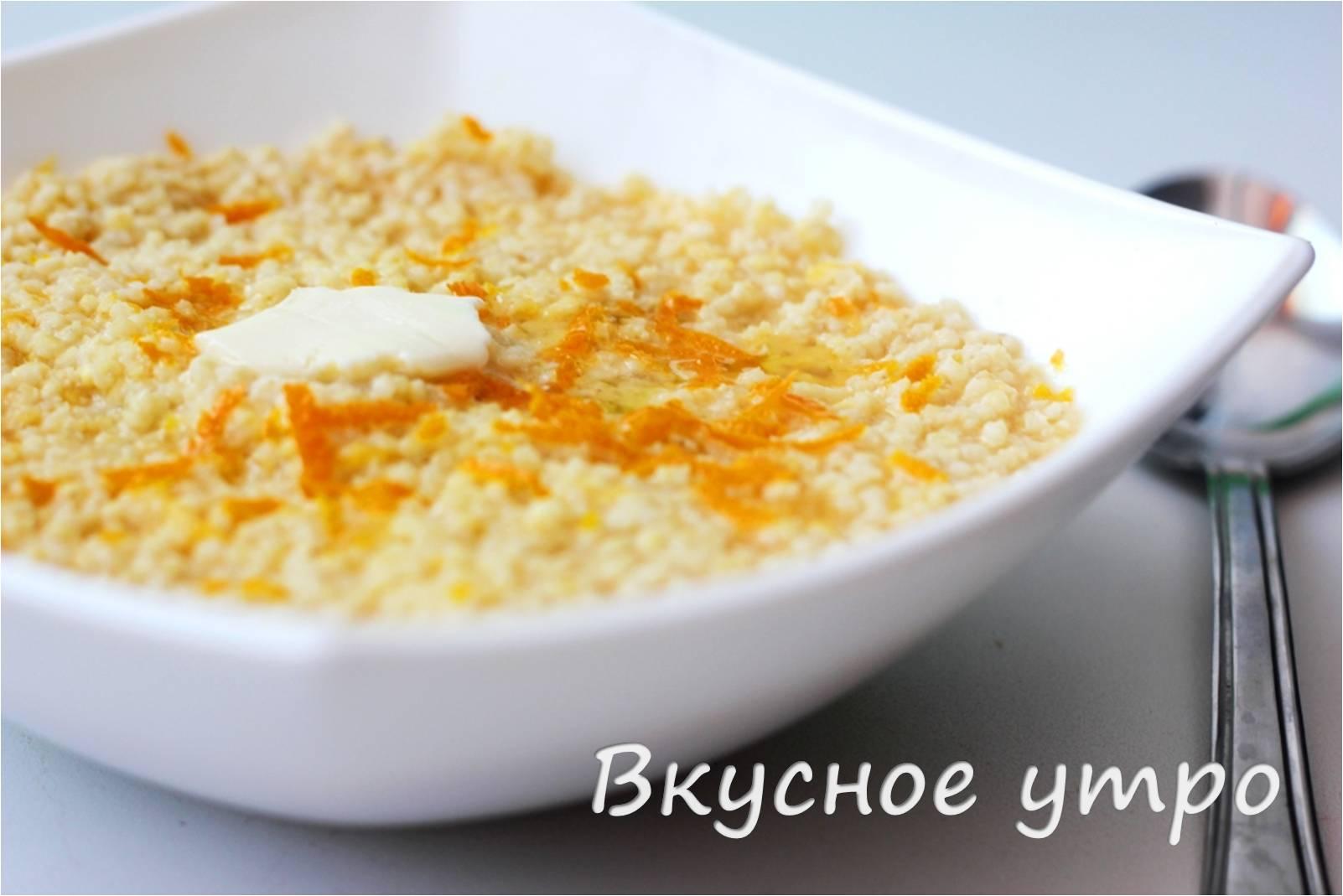 Пшенная каша на молоке рецепт Как варить - YouTube