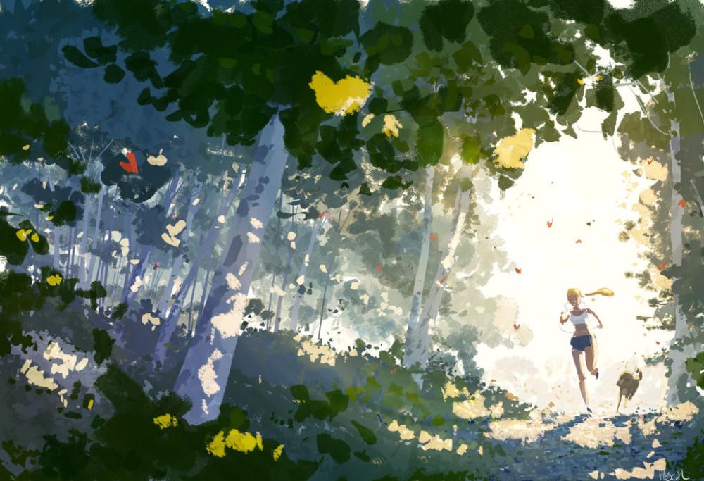 spring_run__by_pascalcampion-db4vezv