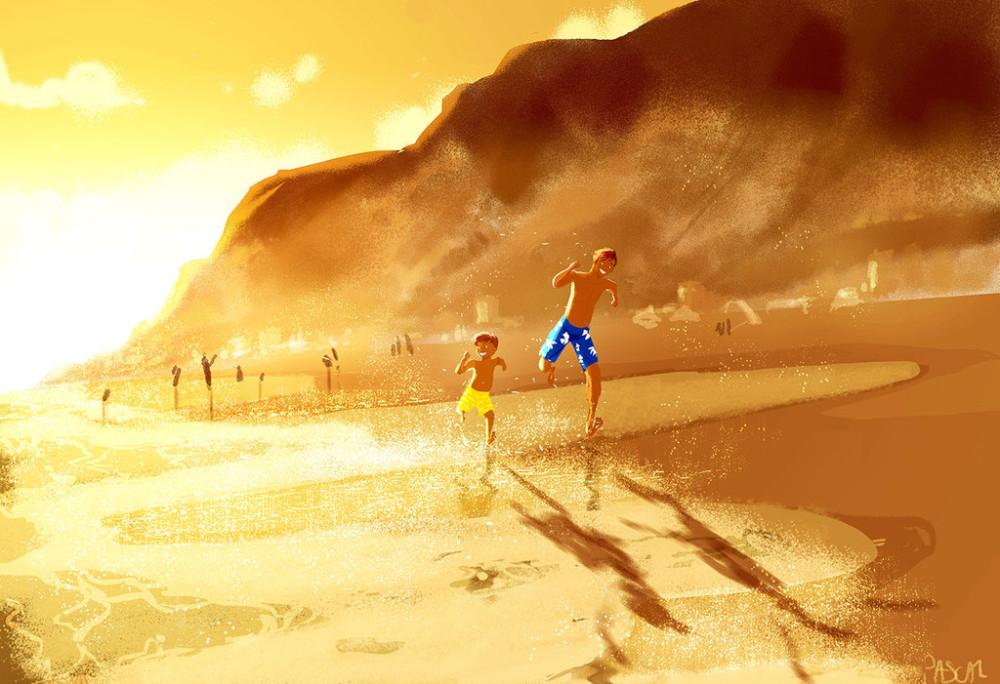 zuma_beach__by_pascalcampion-da8ufju