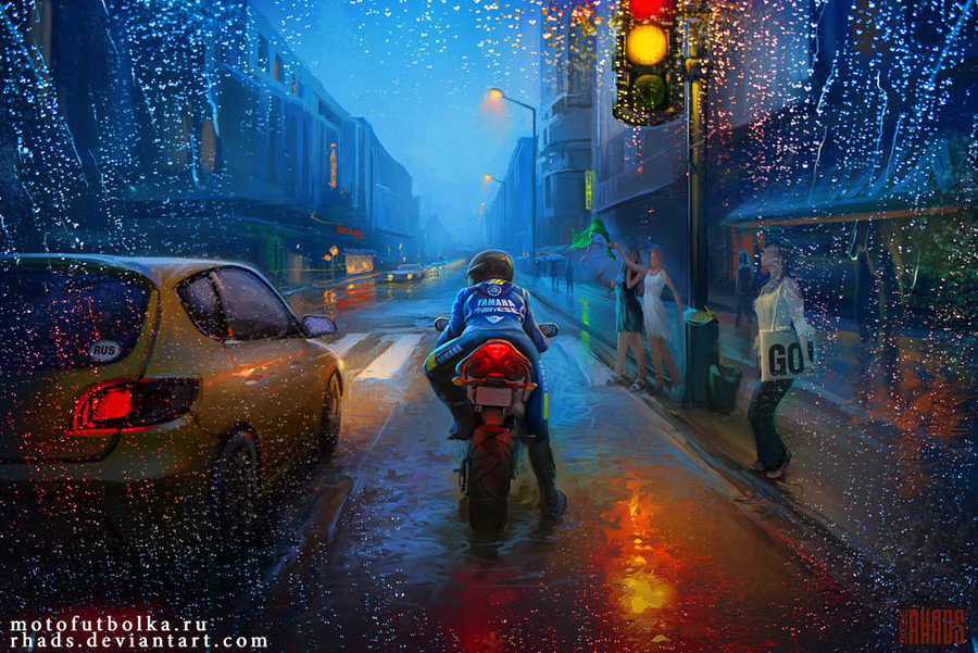 bike_city_by_rhads-d5woc43