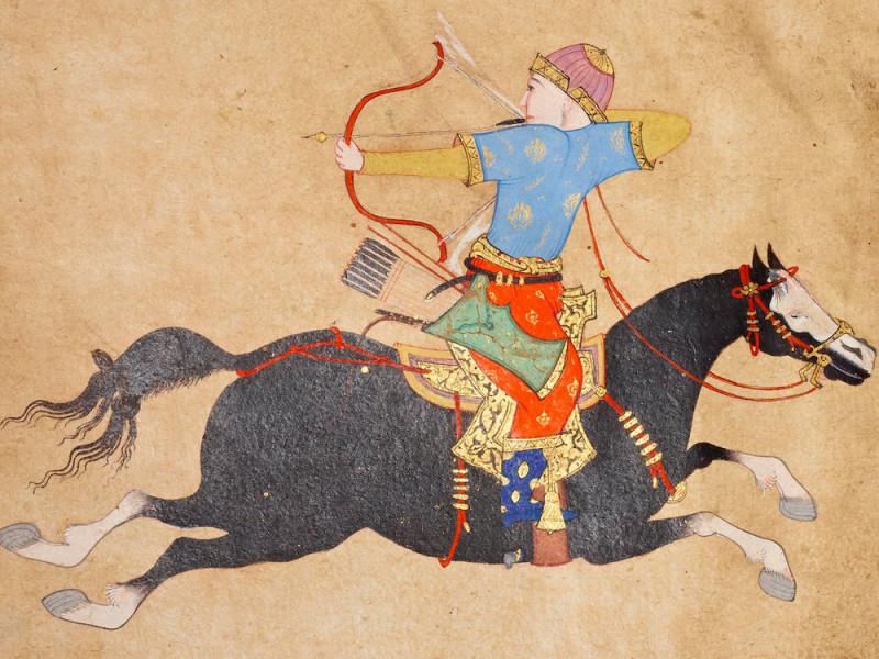 Тюркский всадник