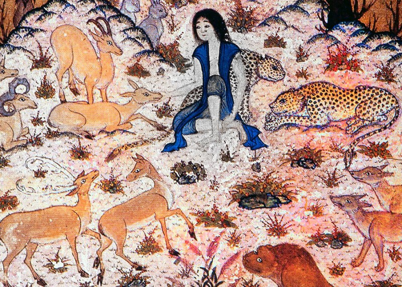 Маджнун в пустыне