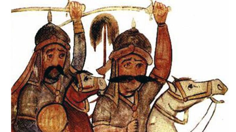 Карматские воины на миниатюре X века