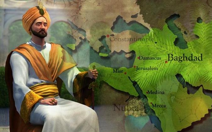 """Харун ар-Рашид в игре """"Цивилизация"""""""
