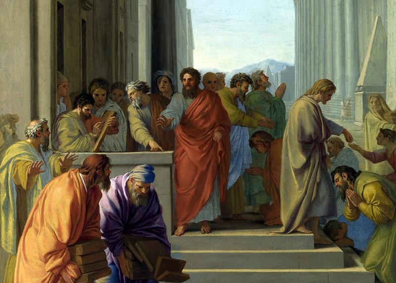 Павел проповедует в Эфесе