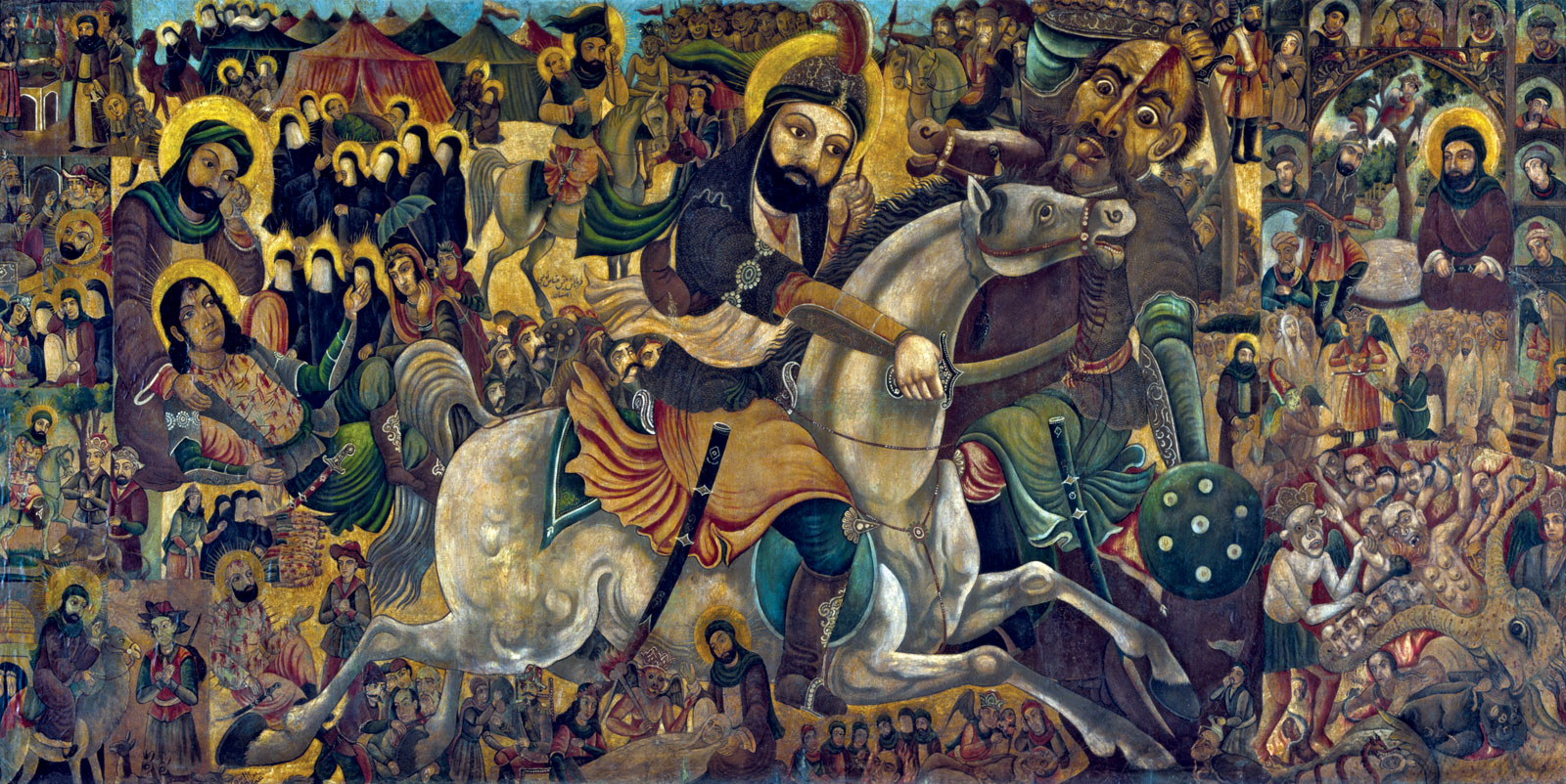 Нурулла Элфайанан, «Битва при Кербеле»