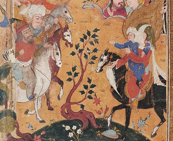 Хусейн и армия Йазида