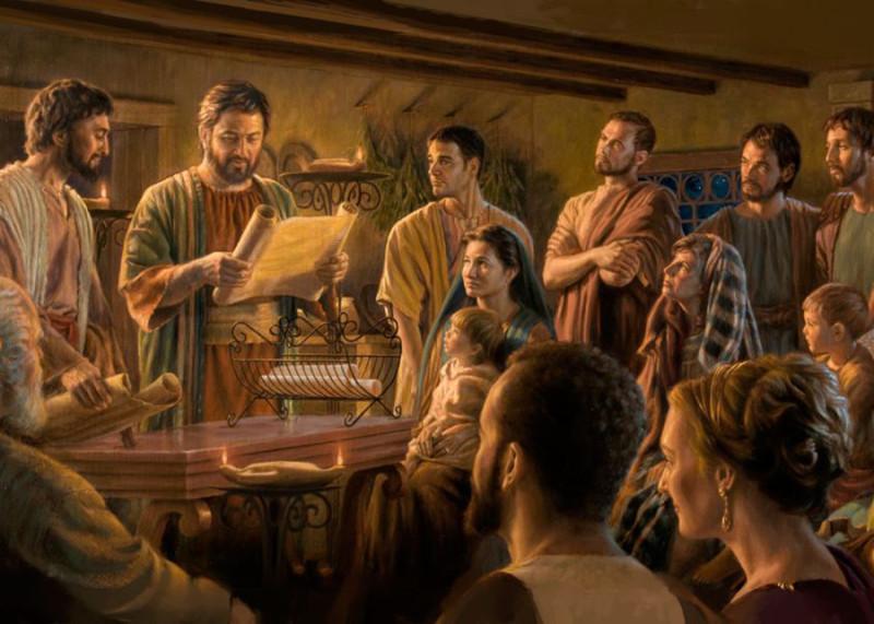 Откуда взялись диаконы, священники и епископы