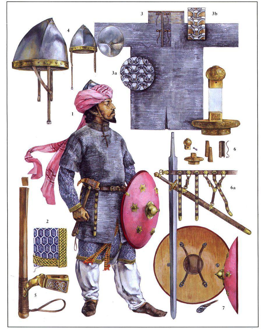 Оружие и экипировка арабского всадника