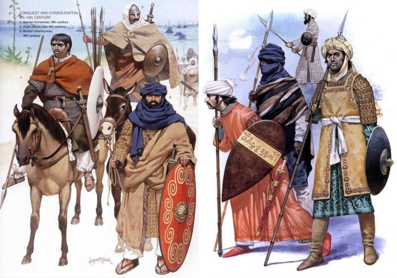 Вооружение арабов и берберов