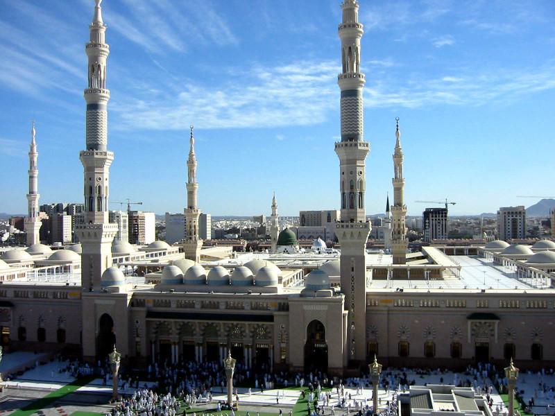 Заповедная мечеть Масджид-аль-Харам