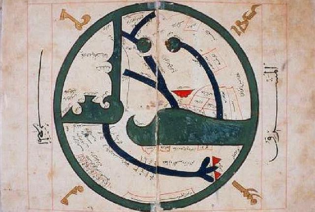Карта аль-Балхи, IX век