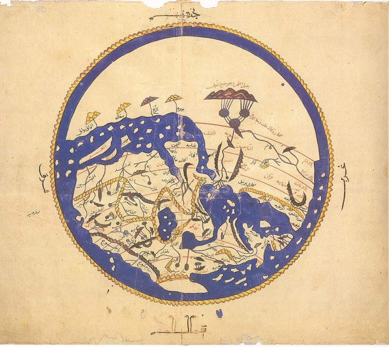 Карта мира по аль-Идриси