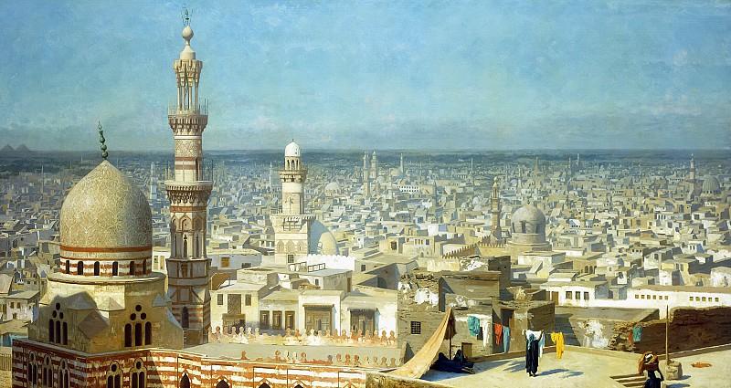 Жан-Леон Жером. «Вид Каира»