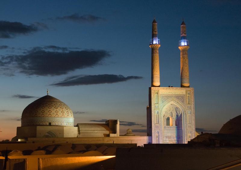 Пятничная мечеть в Йезде. XII век