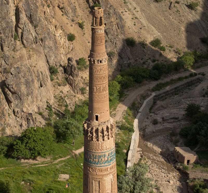 Минарет Джам в Афганистане. XII век