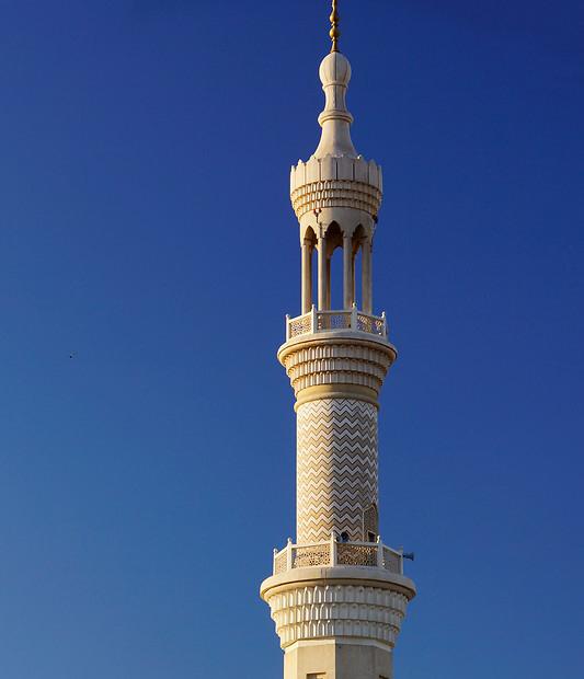 Минарет мечети шейха Зайда. XX век