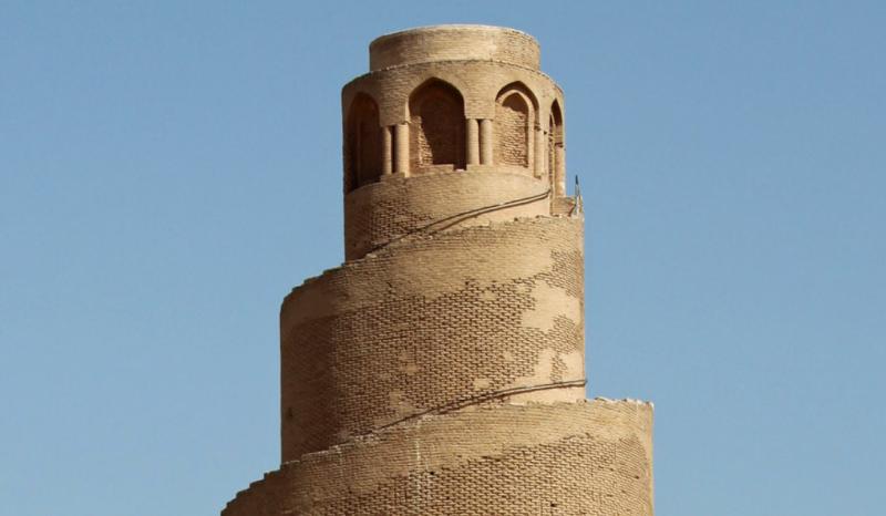 Верхушка минарета в Самарре
