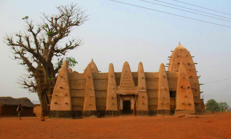 Мечеть Ларабанга, Гана. XV век