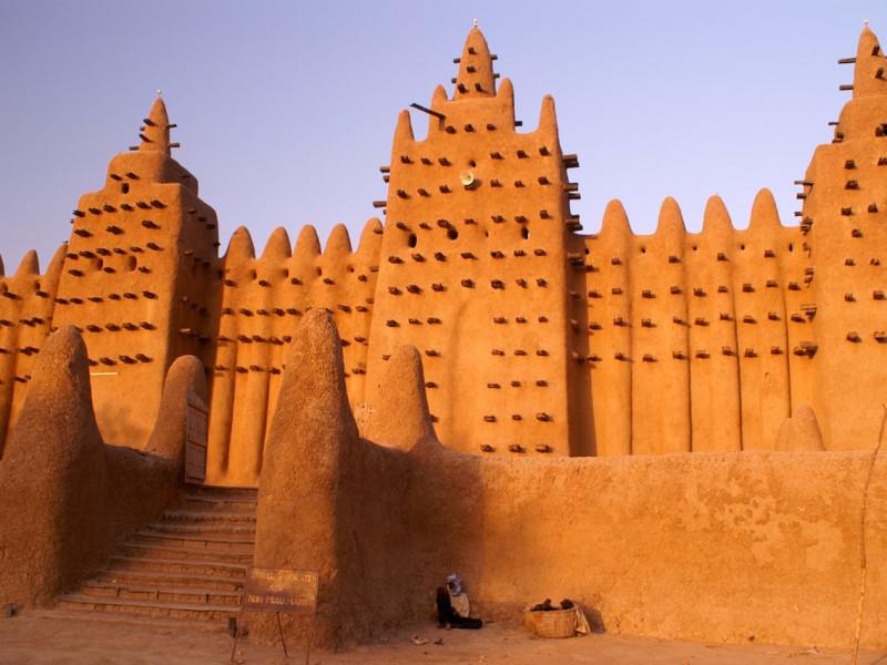 Мечеть Джингеребер в Тимбукту, Мали. XIV век