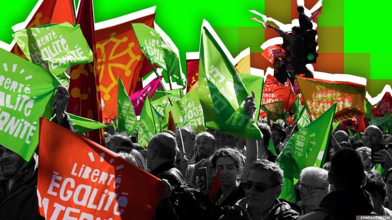 Протесты во Франции против законопроекта по биоэтике.
