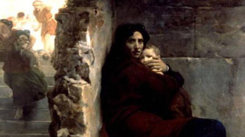 Леон Конье. Избиение младенцев. 1824.