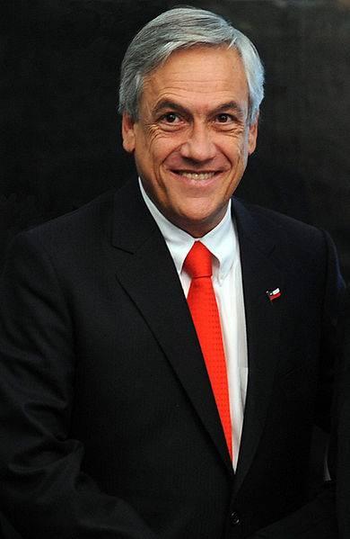 Президент Чили Себастьян Пиньера