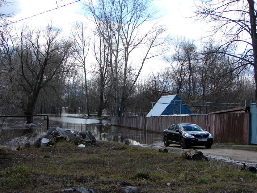 Разлив на Кляльме ул Кузнечная 26-04-2013 3