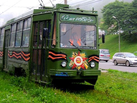 любимый трамвай