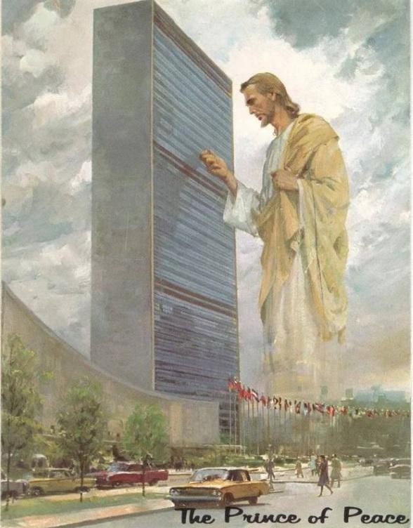 "Гарри Андерсон ""Иисус стучит в окна ООН"""