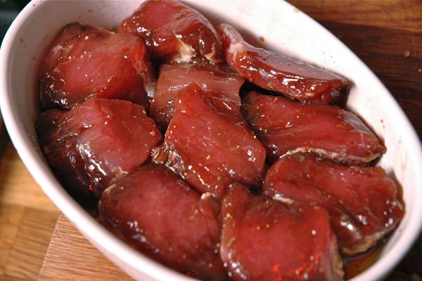 рецепты из свиной вырезки в духовке с фото