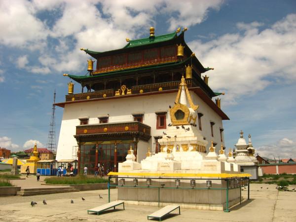 Центральный Храм монастыря Гандан (Гандантекчинлинг)