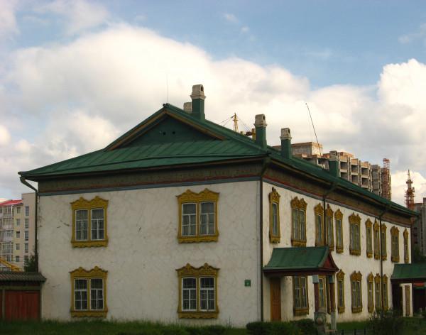 Зимний дворец в русском стиле