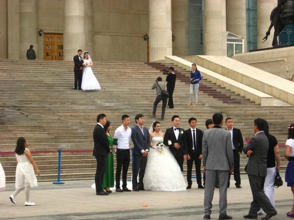 Монгольская свадьба