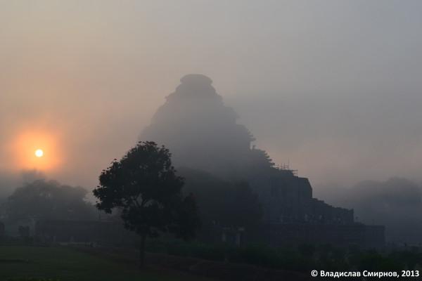 Храм солнца. рассвет. Конарак