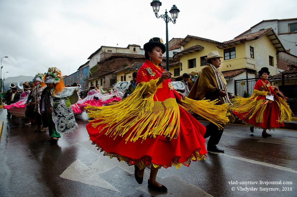 Carnival Cusco