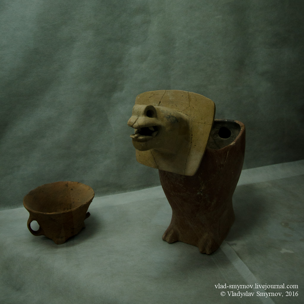 керамический сосуд из музея