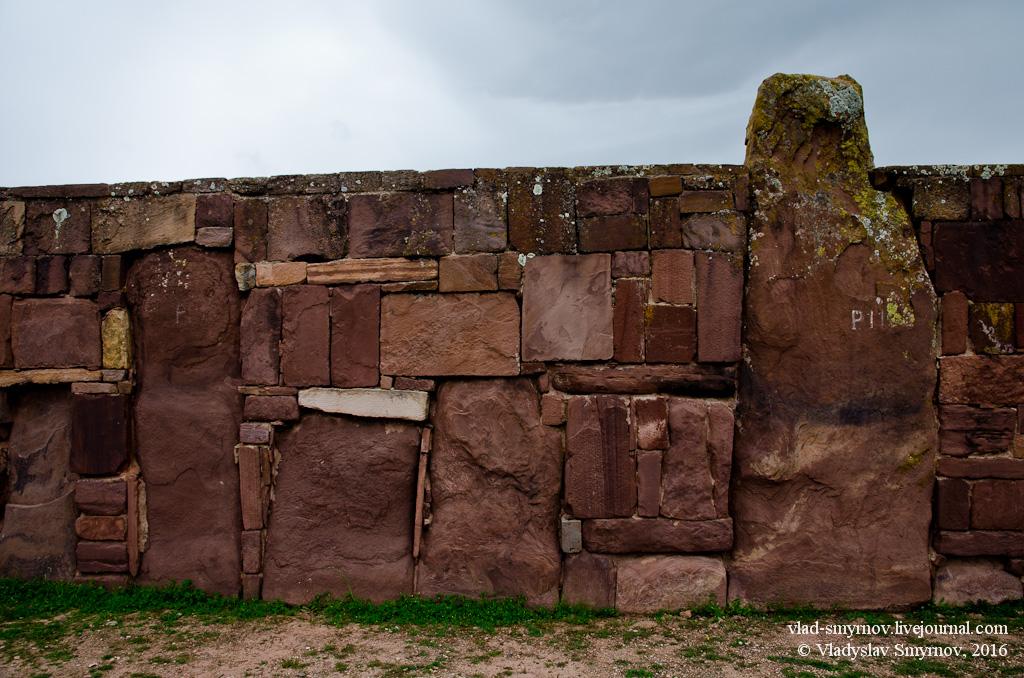 Фрагмент стены храма Каласасайа