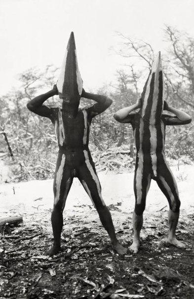 Таинства и мистерии огнеземельцев. Фотография Мартина Гусинде