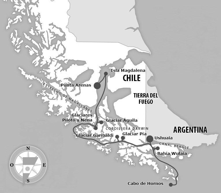 маршрут морского похода