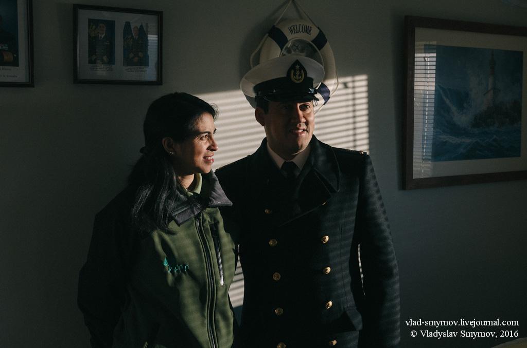 Хранитель маяка со своей женой