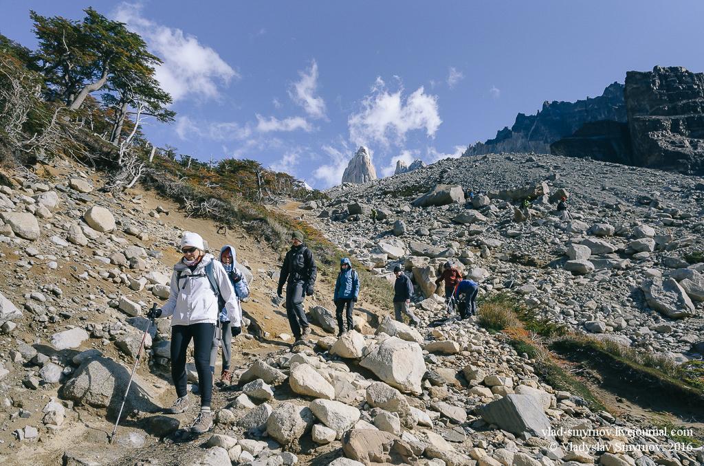 Torres del Paine На пути к башням