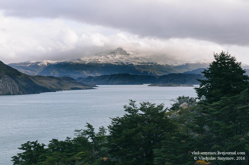 Погода наладилась, и открылся вид на прекрасную вершину на западе