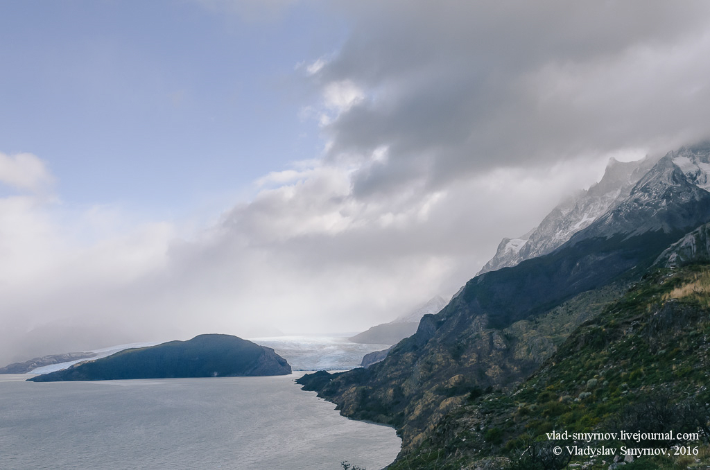 Ледник Грей, озеро Грей
